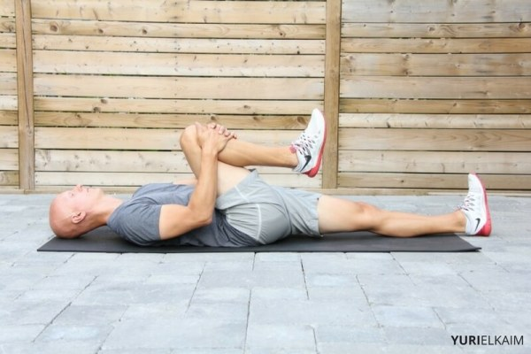 Knee Tuck Stretch