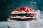 Flourless Red Velvet Cake with Beets (Paleo)