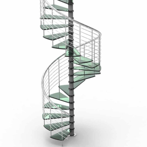 Glass Spiral Stair – Yurihomes   Steel And Glass Staircase   Living   Wood   Contemporary   Old House   Glass Design Golden