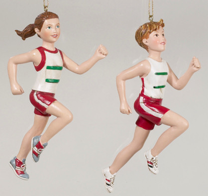 running ornaments
