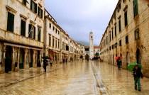 """Yuri Martins Fontes / Croácia-2007 / Dubrovnik: A """"Pérola do Adriático"""", cidade cercada por muralhas medievais a beira-mar."""