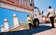 """Yuri Martins Fontes / Turquia – 2007 / Istambul: Região do histórico """"Grande Bazar""""."""