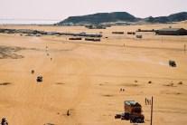 Yuri Martins Fontes / Sudão-2007 / Wadi-Halfa: Estação de trem com Rio Nilo ao fundo / Fronteira com Egito