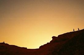 Yuri Martins Fontes / Sudão-2007 / Wadi Halfa: Pôr-do-sol no Saara / Fronteira com Egito