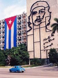 Yuri Martins Fontes / Cuba-2002 / Havana: Homenagem a Chê Guevara / Bairro do Vedado