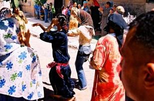 Yuri Martins Fontes / Egito-2007 / Cairo: Dançarinas em festa popular / El Marg - bairro norte da capital