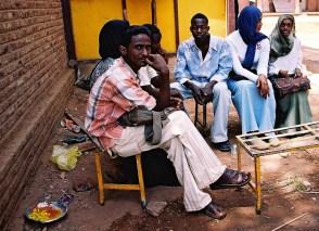 Yuri Martins Fontes / Sudão-2007 / Cartum: Estudantes na Universidade de Cartum