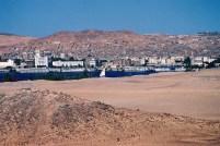 Yuri Martins Fontes / Egito-2007 / Luxor: Vista do centro da cidade desde a margem ocidental do Nilo (Saara)
