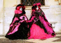 Yuri Martins Fontes / Itália-2007 / Veneza: Noite das mascaradas / Carnaval
