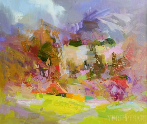 Landscape Painting Modern Abstract Art