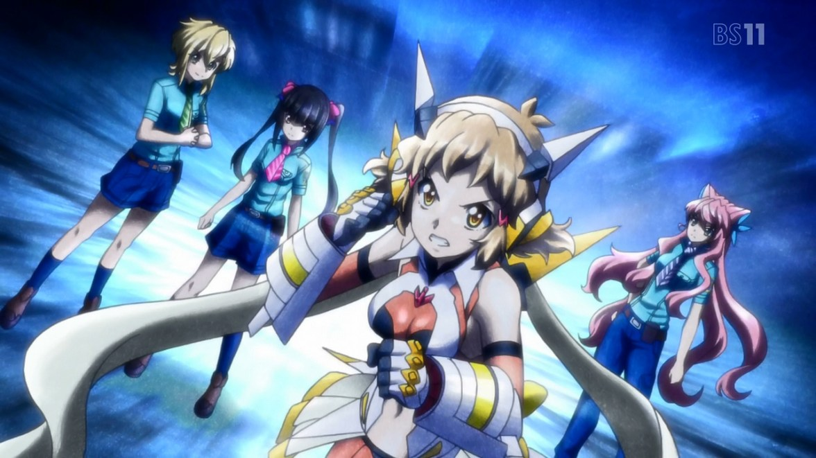 Symphogear AXZ | YuriReviews and More