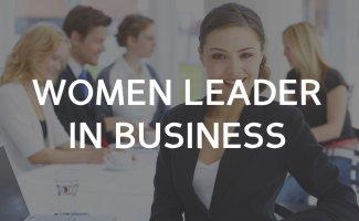 Women leaders in business?