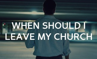 When should I leave my (Russian) Church?