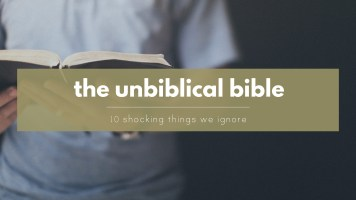 """Biblical"" - the most abused term in the english language"