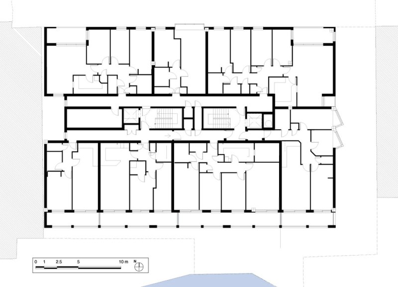 Typical floor plan of Indigo