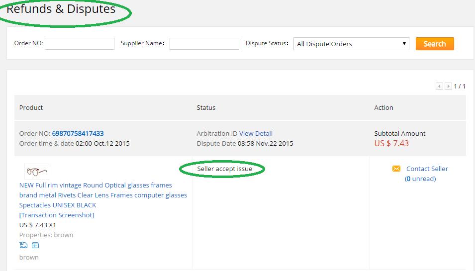 aliexpress ücret iadesi