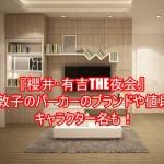『櫻井・有吉THE夜会』前田敦子のパーカーのブランドや値段は?キャラクター名も!1