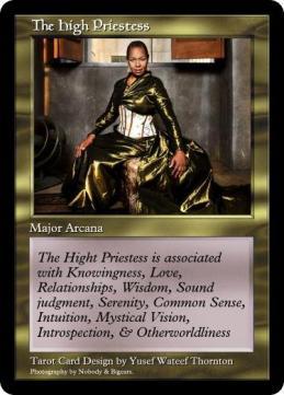 My version of The High Priestess!