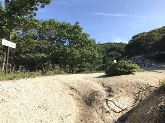 御在所岳の峠登山道2