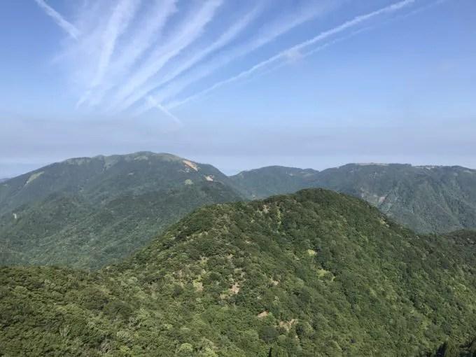 御在所岳山頂からの景色