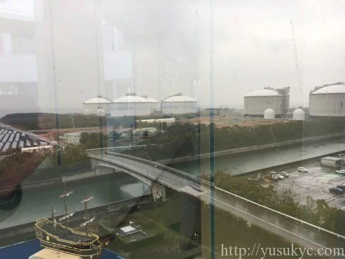 川越電力館テラ46川越展望サロンからの風景