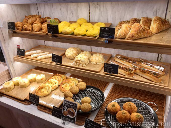 パーシモガーデンのベーカリーコーナー