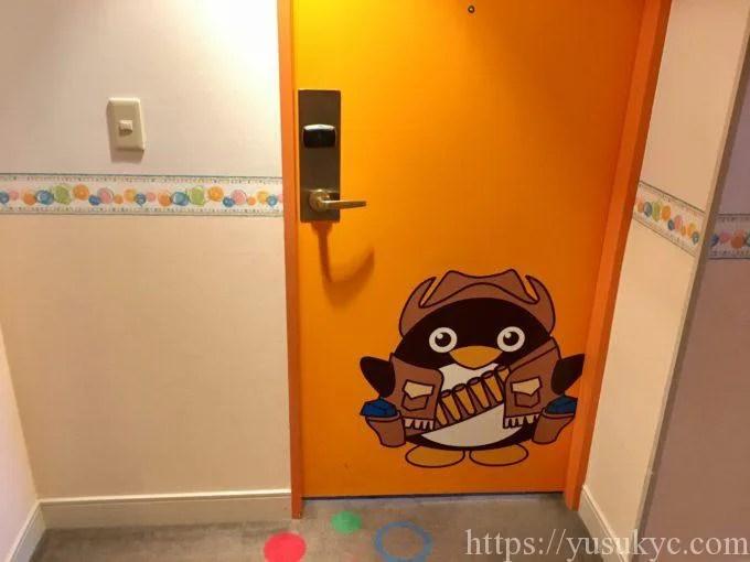 シェラトングランデトーキョーベイのトレジャールームの扉