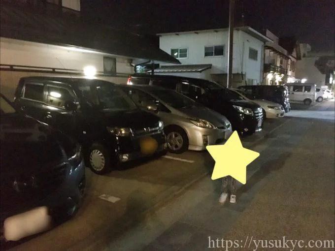 川市の駐車場