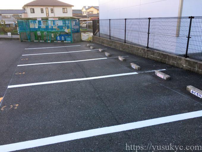 からみそラーメンふくろうの駐車場