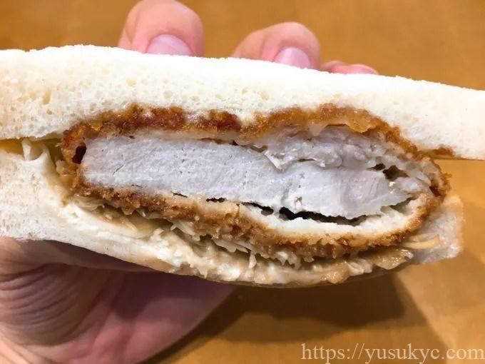 ぎんやのサンドイッチ(味噌カツサンド)