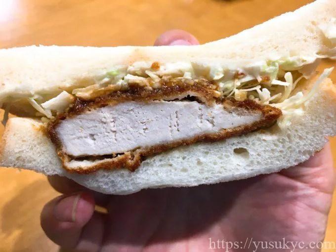 ぎんやのサンドイッチ(ソースカツサンド)
