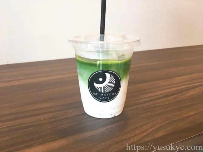 ISE MATCHA CAFE(伊勢抹茶カフェ)の伊勢抹茶ラテ