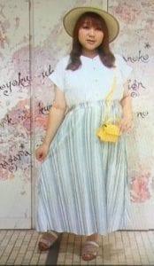 りんごちゃんの衣装はどこのブランド?私服の服装やピアスもかわいいコーディネートバトル