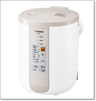 加湿器は結局どれがいいのかテスト検証雑誌MONOQLOのベストバイはEE-RL50