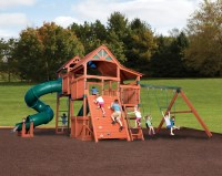 Backyard Adventures - Kids Outdoor Playsets - Yutka Fence