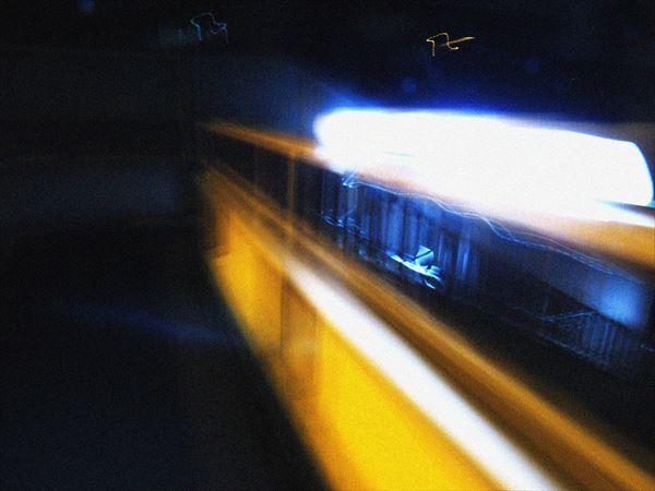 歩道橋の灯り3