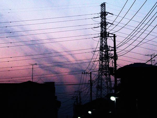 夕方の空3