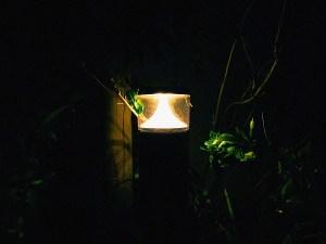 変な形のライト