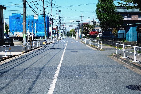 交通量の少ない道