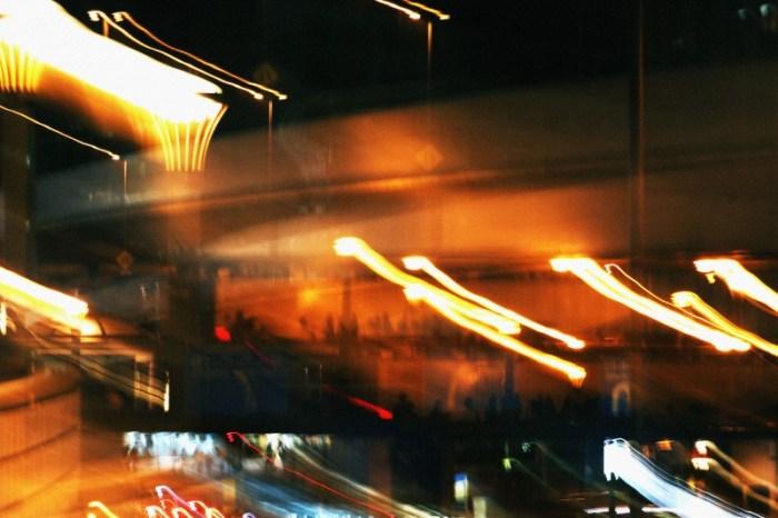 歩道橋のライト2