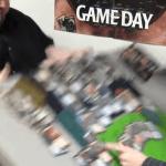 カードゲームで対戦中にちゃぶ台返しをする動画
