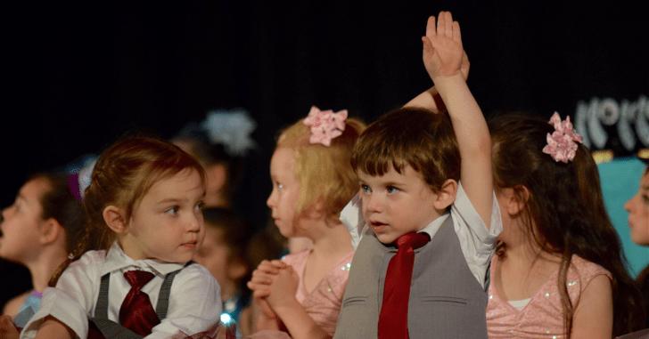 ダンスを踊る時の表情