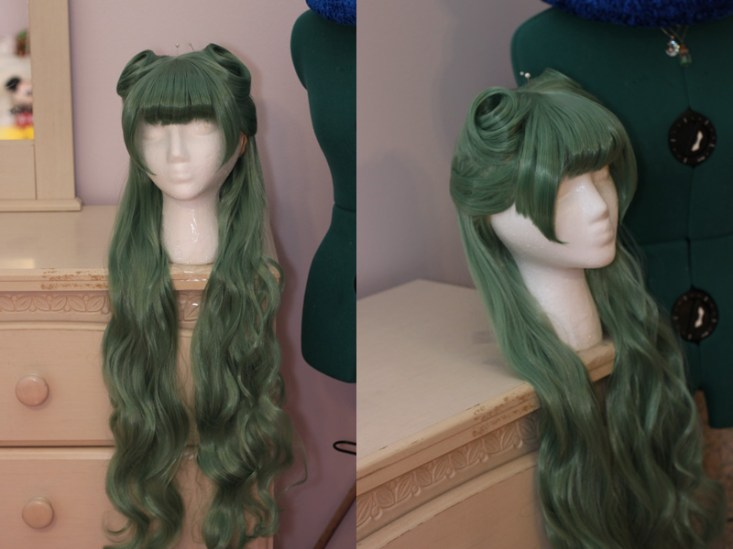 Morrigan Aensland wig