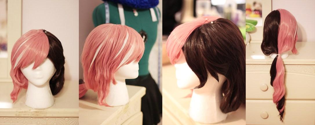 Neopolitan wig
