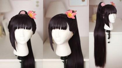 Ayame Yomogawa wig & prop