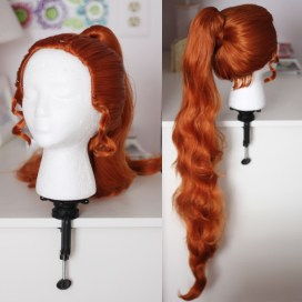 Goldeen gijinka version wig