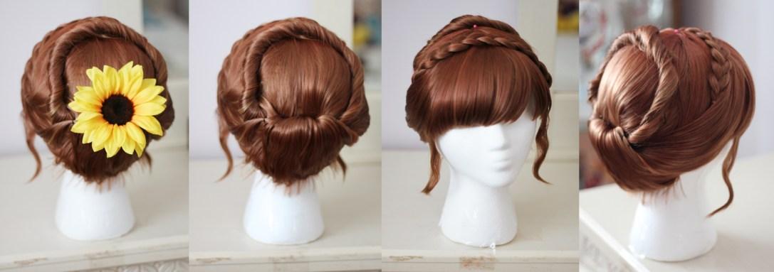 Princess Anna wig