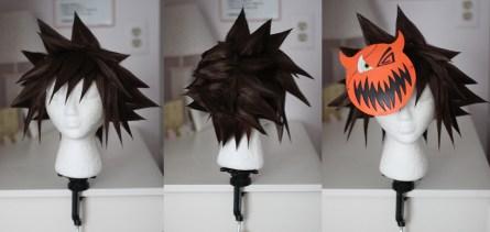 Sora Halloween Town ver. wig