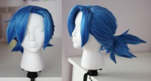 Valentine wig
