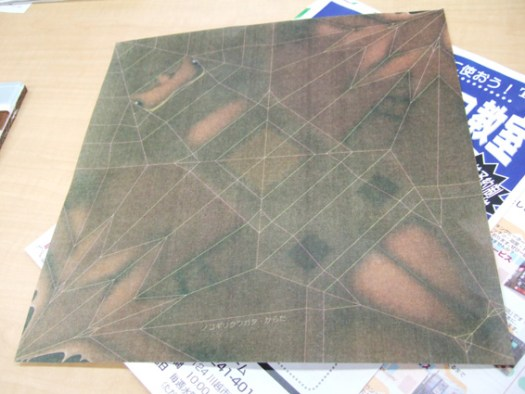 カブトムシの折り紙